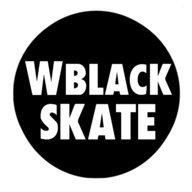 W Black Skate