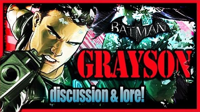 Batman Arkham City - Nightwing Super Spy Dick Grayson Discussion and Lore!