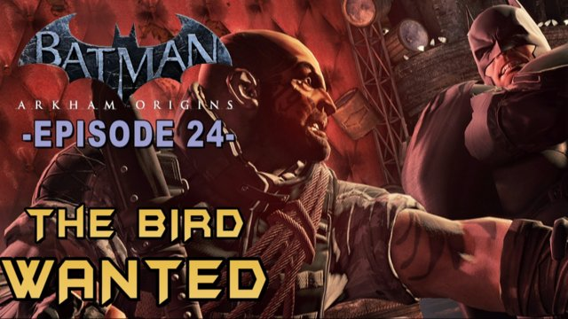 Batman Arkham Origins - Walkthrough Part 24 Bird Most Wanted Guide!