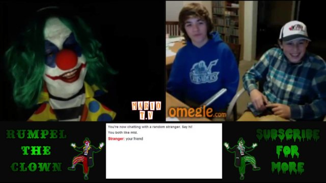 OMEGLE THREESOME | Steve The Stalker, Rumpel The Clown and The Dark One