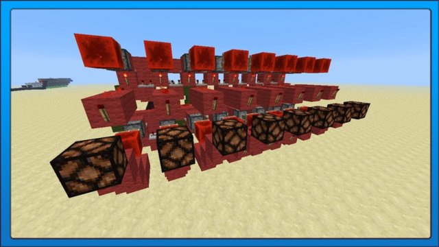 [Minecraft Tech] Redstone Serial Binary Receiver/Transmitter