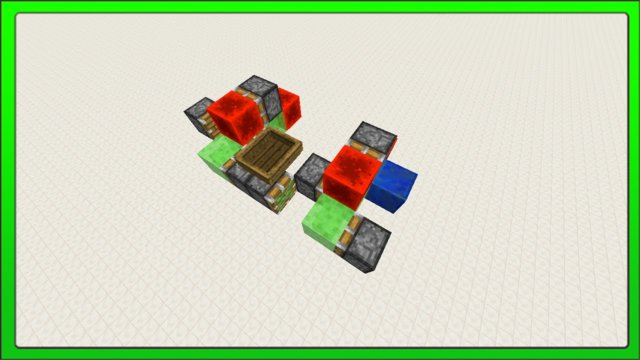 [Minecraft Concepts] Player Controlled 2 Directional Slime Block Flying Machine (+Tutorial)