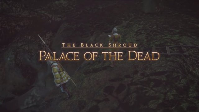 Final Fantasy XIV: Heavensward - Palace of the Dead Floor 01 - 10 (DRK)