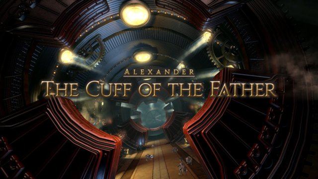 Final Fantasy XIV: Heavensward - Alexander - Cuff of The Father (DRK)