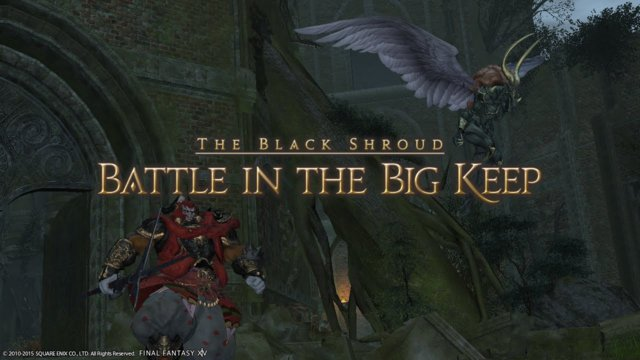 Final Fantasy XIV: A Realm Reborn - Battle in the Big Keep (PLD)