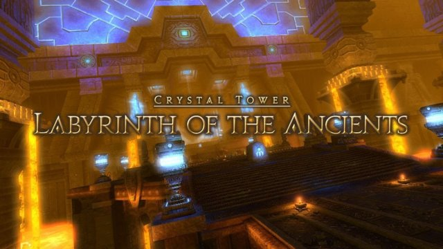 Final Fantasy XIV: A Realm Reborn - Labyrinth of the Acients (BRD)