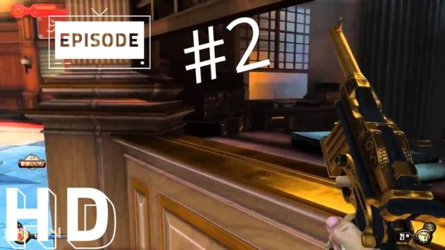 Bioshock Infinite - Walkthrough Part 2 - Uncaging The Bird HD