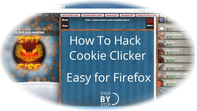 ★ How To Hack Cookie Clicker [New] - Hacked Cookies Taste Terrible [FireFox] Cookie Clicker Cheat