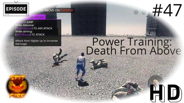 Saints Row 4 PC HD - Saints Row 4 Gameplay - Power Training - Death From Above