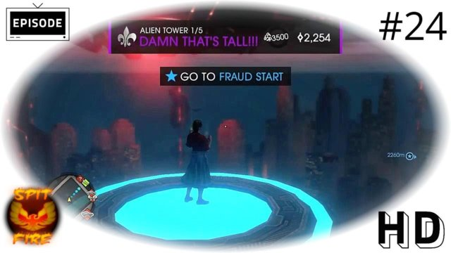 Saints Row 4 PC HD - Explore The Tower - Reach Top Of Tower - Saints Row IV Letsplay