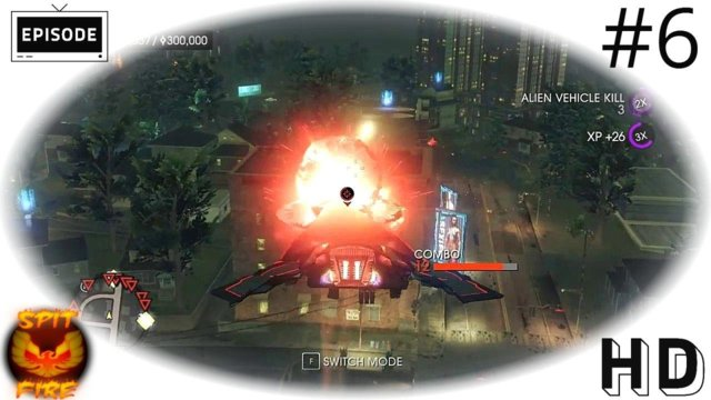 Saints Row 4 PC HD - UFO Mayhem - Blazin - Image as Designed - Saints Row IV Letsplay