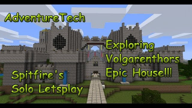 AdventureTech - Exploring Volgarenthors house (Jammy's Furnature Mod)