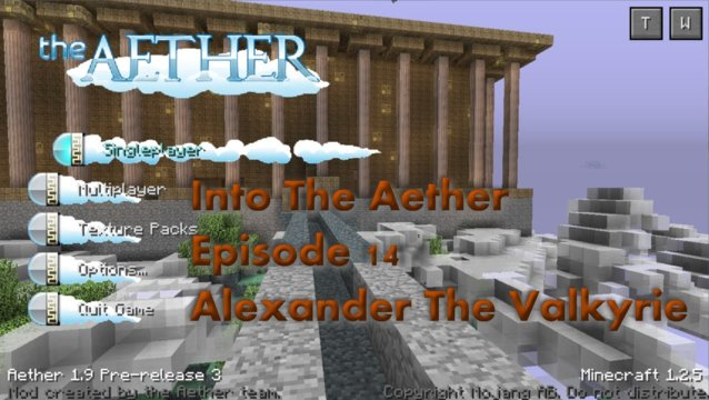 Into The Aether With SpitFire - Alexander The Valkyrie