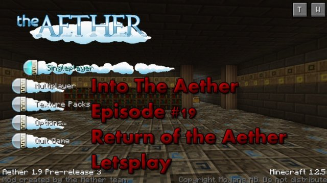 Into The Aether With SpitFire - Return of the Aether Letsplay