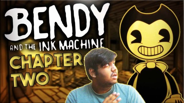 LOOK AT THIS DUDE!!! // Bendy and the Ink Machine [Chapter 2]