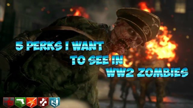 5 Perks I Want To See In WW2 Zombies
