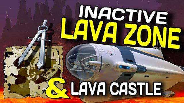 How To Find The Inactive Lava Zone and Castle In SUBNAUTICA (w/map) FAST & EASY - NOV 2017