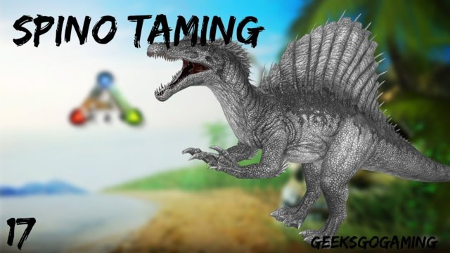 Taming a Massive Spino - Ark Survival Evolved