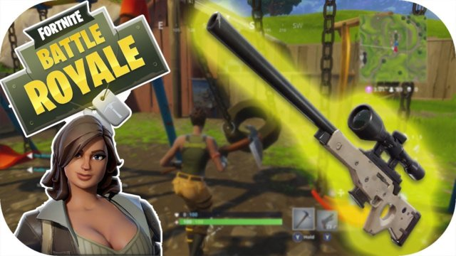 Funny Fails And WTF Moments Fortnite Battle Royale - Swing Set Glitch - Sniper Skills