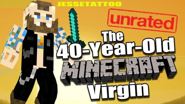 The 40 Year Old MINECRAFT Virgin - WTF IS THIS GAME - Part 1