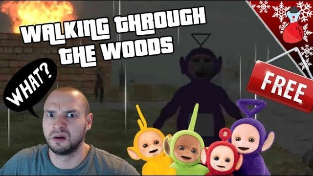 Walking Through the Woods | When Teletubbies Attack | Free Healing
