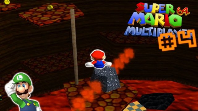 me screeching like a little girl for 10 minutes | Super Mario 64 Multiplayer Hack #4