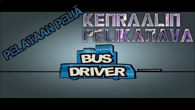 Drive with me with a Bus driver Simulator (English Subtitle)