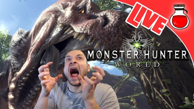 I GOT A BONE TO PICK WITH YOU | Monster Hunter World | PS4Live