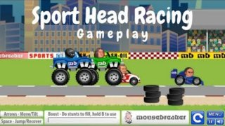 Sport Head Racing | #Gameplay | Complete Game