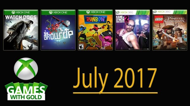 Free Xbox Games July 2017 | #GamesWithGold