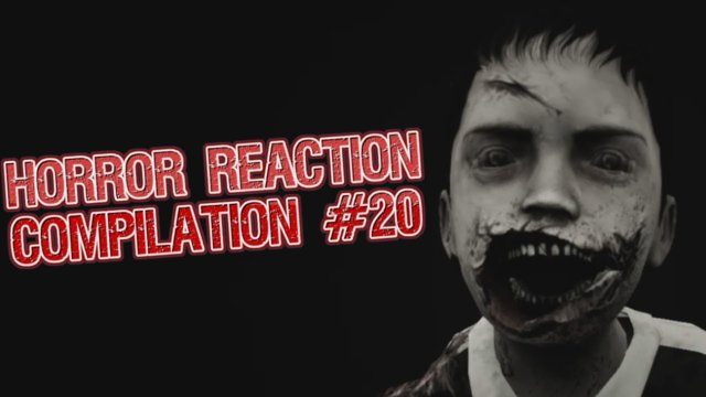 Horror Reaction Compilation 20