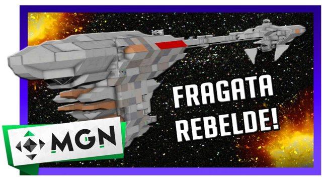 Fragata Nebulon B Star Wars Space Engineers