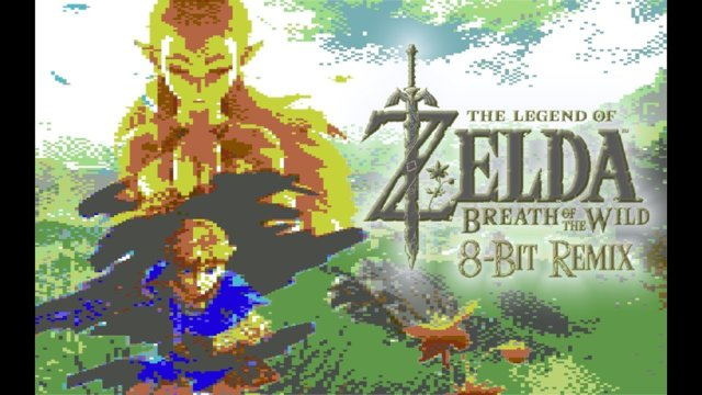 Zelda: Breath Of The Wild - Main Theme [8 Bit Remix]