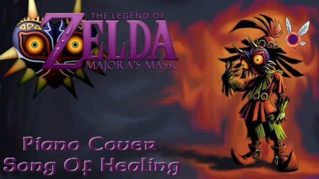 Legend Of Zelda: Majora's Mask - Song Of Healing - Piano Cover - Connor M.