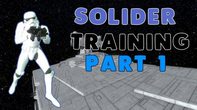 10 REBELS VS 1 STORM TROOPER - SOLIDER TRAINING on Star Wars RP - Garry's Mod - Part 1