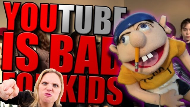 IS YOUTUBE IS BAD FOR KIDS?!