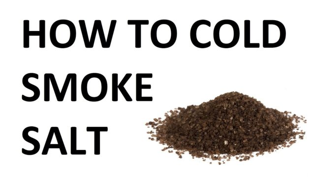 How to Smoke Salt