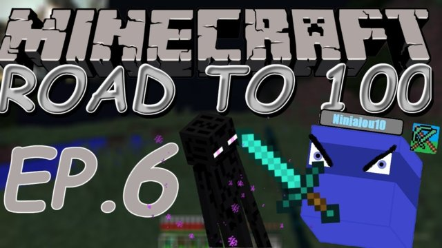 The hunt for Endermen !!! | Minecraft: Road to 100 (ep. 6)