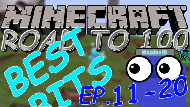 Minecraft Road To 100 Best Bits (ep. 11-20)