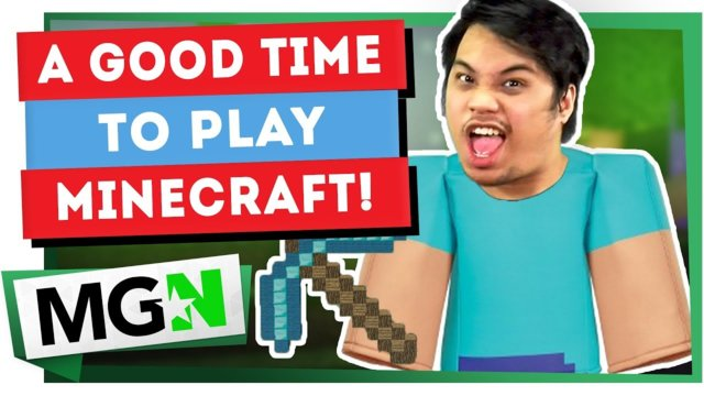 Minecraft: Is it a good time to start creating content? | Games on Queue | MGN (2019)
