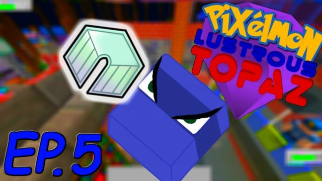 The 2nd badge!!! | Minecraft Pixelmon Lustrous Topaz Ep.5