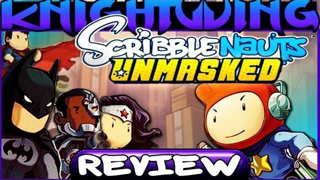 Game Reviews - Scribblenauts Unmasked Review Nintendo Wii U